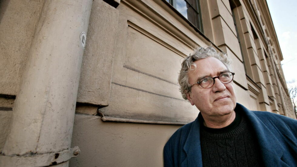 """TILSVAR I DIKTFORM  Forfatter Torgeir Rebolledo Pedersen (bildet) var med i et opprop for prisutdelingen til Handke. """"Vi må forsvare medforfatterens rett til å tenke og ytre seg på tvers av gjengse oppfatninger. Vi må forsvare det frirommet litteraturen, kunsten er"""", skrev de noenogredve forfatterne. Foto: Ole C. H. Thommasen"""