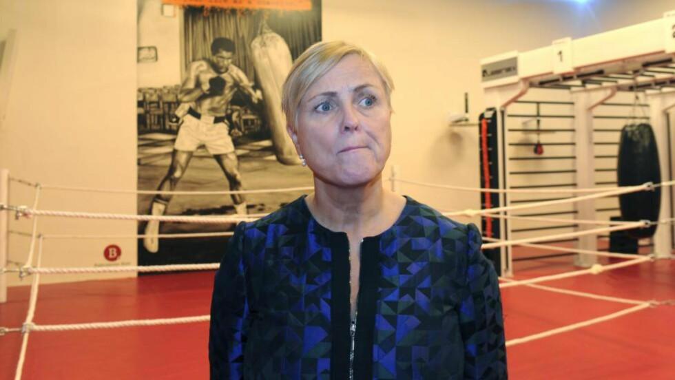 MOTSTAND: Kulturminister Thorild Widvey kommer til å møte stor motstand i Stortinget mot mediekuttene. Foto: NTB/Scanpix