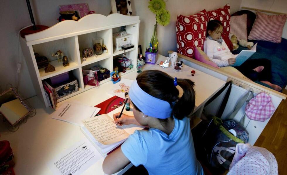 HVOR MYE LEKSER: Hvor mye er det forventet at foreldre skal hjelpe, spør kronikkforfatteren.  Foto: Gorm Kallestad / SCANPIX