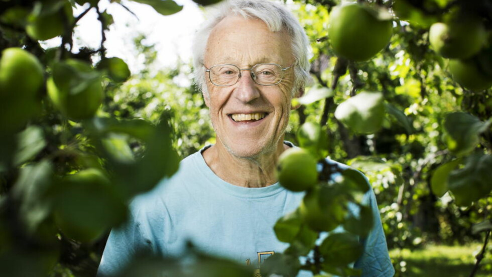 SPRÅKHELT: Professor Finn-Erik Vinje var lenge fast språkekspert i NRK. Foto: Sondre Steen Holvik / Dagbladet