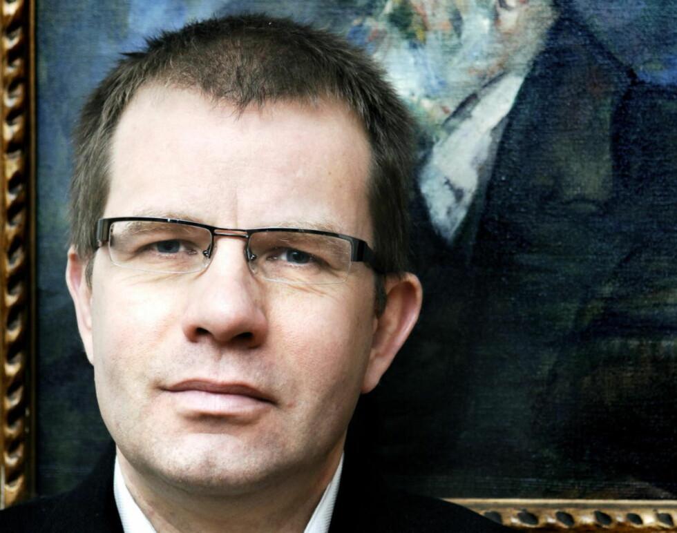 Sindre Hovdenakk ønsker å bedre sakprosaens stilling. Foto: Steinar Buholm / Dagbladet.