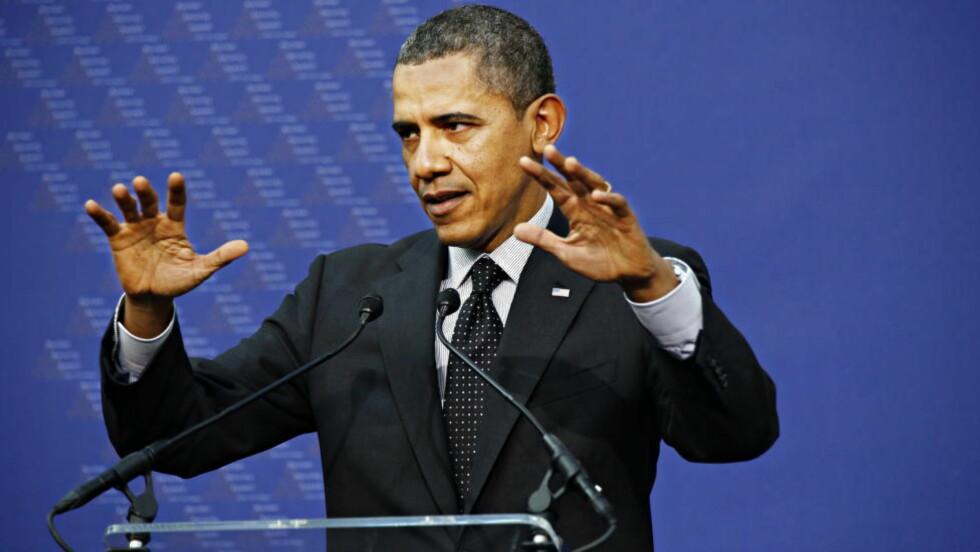 KAOTISK VERDEN.:  President Barack Obama basker nå i den ene krisa etter den andre både hjemme og ute, Foto: Jacques Hvistendahl / Dagbladet