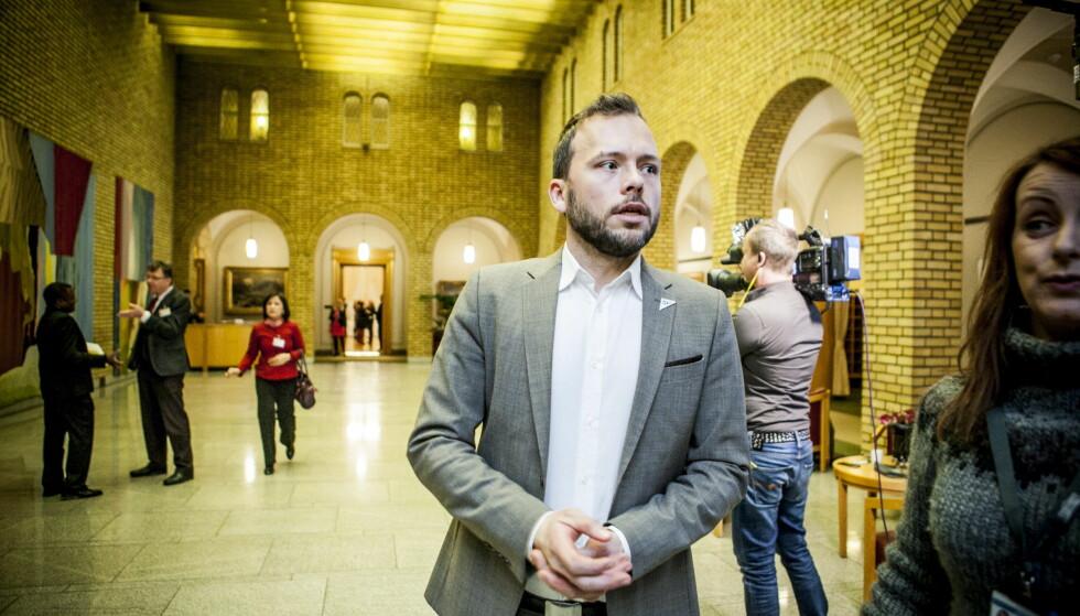 KRITISK: Audun Lysbakken (SV) er kritisk til ryktene om de nye regjeringsutnevnelsene, med forbehold om at lekkasjene medfører riktighet. Foto: Christian Roth Christensen / Dagbladet