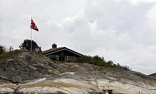 SØRLANDSIDYLL: Kronprins Haakon kjøpte hytta på Flatholmen for ni millioner kroner i 2008.  Foto: NTB Scanpix