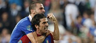 Del Piero tror Italia overrasker: - Forsvaret vinner titler