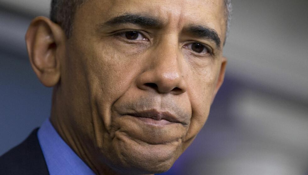 BEKYMRET: USAs president er dypt bekymret for avtalen om våpenhvile i Syria. Foto: AP Photo/Manuel Balce Ceneta, File