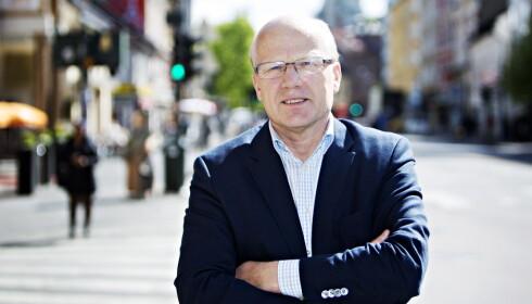 KRITISERER AP: Hårek Elvenes (H) kritiserer Ap for å ha underprioritert Forsvaret. Foto: Nina Hansen