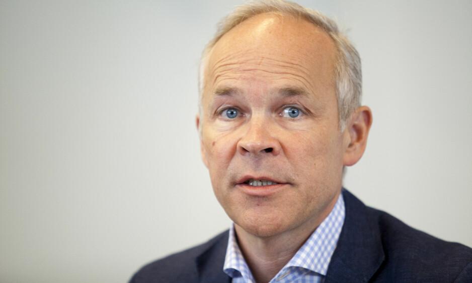 FÅR KRITIKK: Statsråd Jan Tore Sanner i kommunal- og moderniseringsdepartementet får hard medfart av sivilombudsmannen. Foto: Torstein Bøe / NTB scanpix