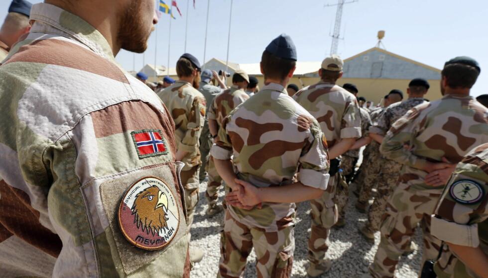 AFGHANISTAN: Camp Maimanah i Faryab, Afghanistan i 2012. Foto: Lise Åserud / NTB scanpix