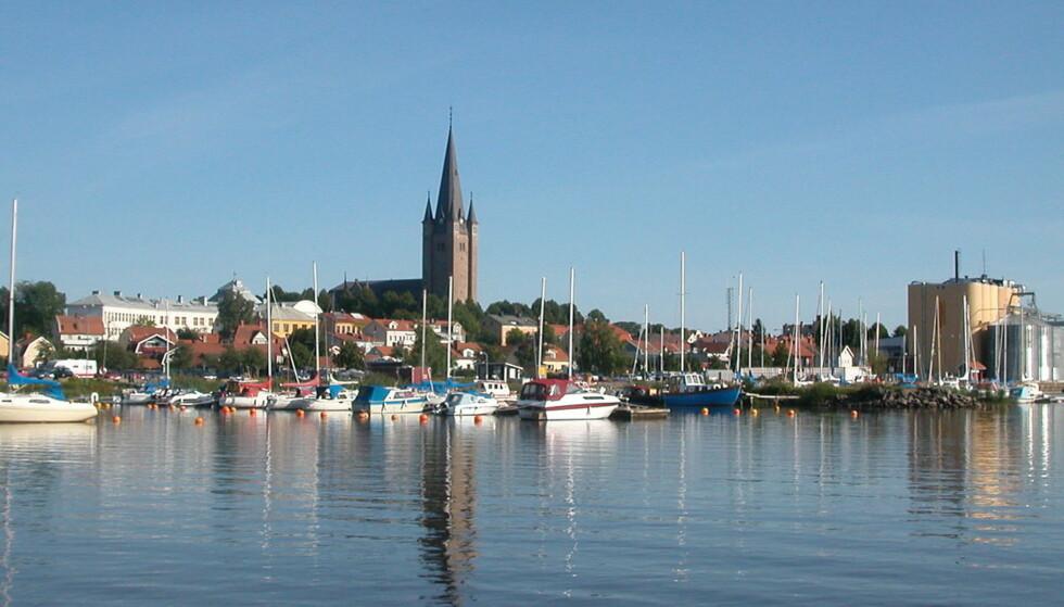RYSTES AV VOLDTEKT: Den lille svenske byen Mariestad rammes av en voldtektssak som får nasjonal oppmerksomhet. Foto: WikiCommons