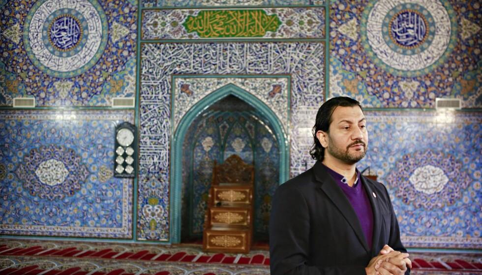 UKLAR: I sak etter sak har Mehtab Afsarvært nølende eller uklar, når han har blitt spurt om sine holdninger til radikal islam eller om han tar avstand fra terroraksjoner i islams navn. Foto: NTB Scanpix