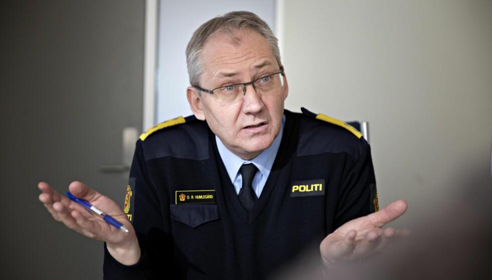 ANGRER IKKE: Politidirektør Odd Reidar Humlegård mener midlene som er brukt etter 22. juli har gått til riktig formål. Foto: Dagbladet