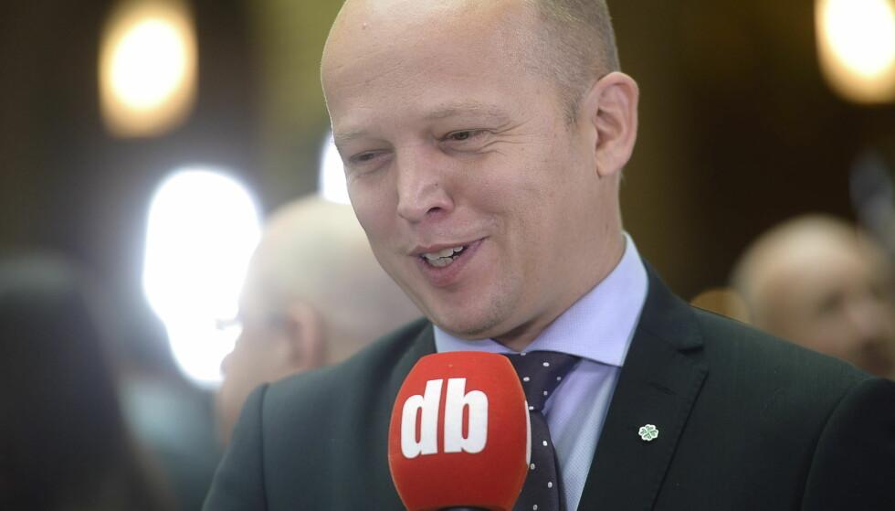 MEDVIND: Senterpartiet seiler i politisk medvind. Det viser seg også i statistikk over hvor mange ganger denne mannen opptrer i NRK: Foto: Thomas Rasmus Skaug / Dagbladet