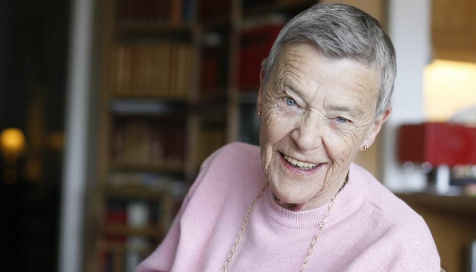 HOMOPIONEREEN: Karen-Christine Friele (81), bedre kjent som Kim Friele, sto fram som Norges første åpne homofile på 60-tallet. Foto: NTB Scanpix