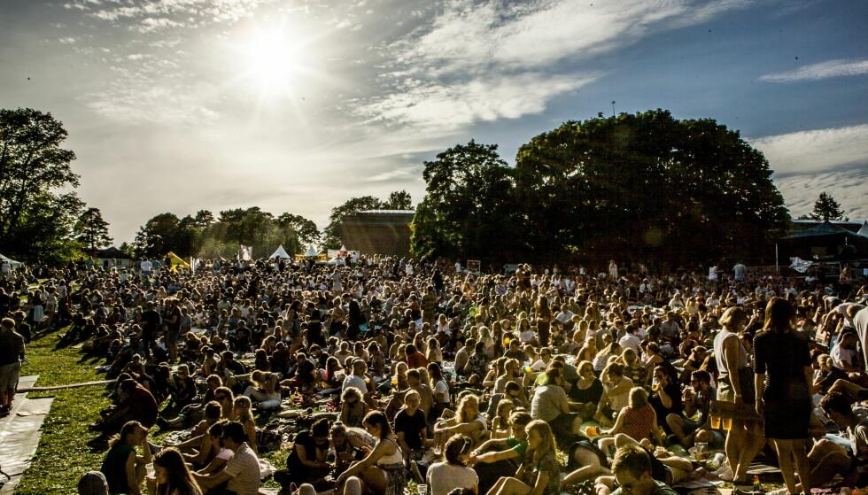 <strong>FRYKT:</strong> Festivalsommeren har også ført med seg fare for overgrep. Her &nbsp;Piknik i Parken musikkfestival. &nbsp;Foto: Christian Roth Christensen / Dagbladet