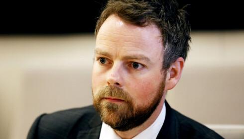 IKKE EGET FAG: Kunnskapsminister Torbjørn Røe Isaksen. Foto: Lise Åserud / NTB Scanpix
