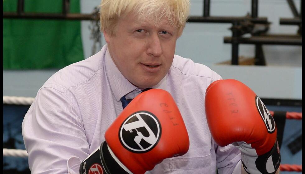 FORSVARTE TYREFEKTING: Storbritannias utenriksminister Boris Johnson er en omstridt skikkelse i britisk politikk. Foto: Andrew Parsons / i-Images.