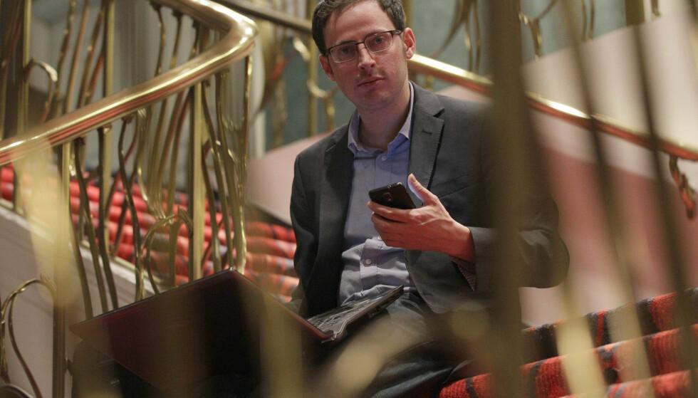 Statistiker Nate Silver ble kjent over hele verden etter valgene i 2008 og 2012 da han på FiveThirtyEight-bloggen gjettet riktig på det meste. Foto: Nam Y. Huh / AP / NTB Scanpix