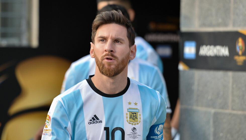VM UTEN MESSI?: Argentina sliter i VM-kvaliken. Det kan i verste fall bety et VM uten verdensstjerna Messi. Foto: Jose L. Argueta/ISI/REX/Shutterstock