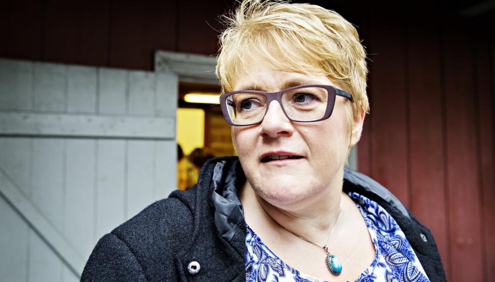 SKEPTISK: Venstre-leder Trine Skei Grande er skeptisk til den nye avtalen mellom Norge og Kina. Foto: Nina Hansen / Dagbladet