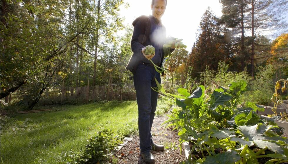 SPORER AV: Økologidebatten sporer av når media forsøker å avsløre økologi som «keiserens nye klær». Den sporer av når økotilhengere roper «kreft, kreft» litt for hyppig, skriver Andreas Viestad. Foto: Nina Ruud / Dagbladet