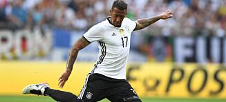 Tysk fotballstjerne nekter familien å komme til EM