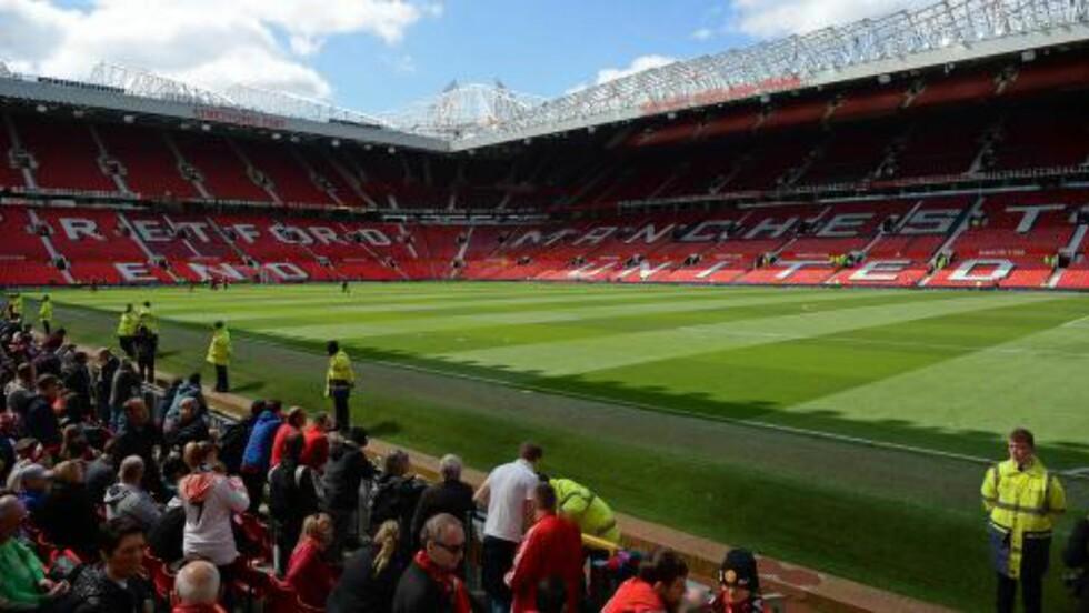 MÅTTE UT: Alle fra Old Trafford. Foto: AFP PHOTO / OLI SCARFF /