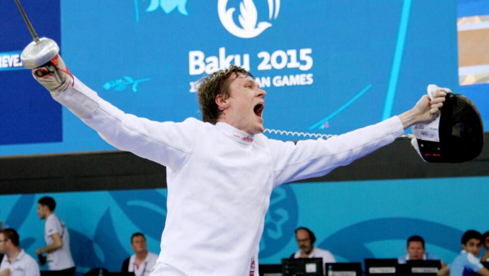 SLUTT:  Den norske fekteren Bartosz Piasecki legger opp i sommer. Foto: Halvor Lea / Olympiatoppen / NTB scanpix