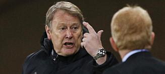 Hareide fikk sitt første tap som Danmark-sjef etter tabbe