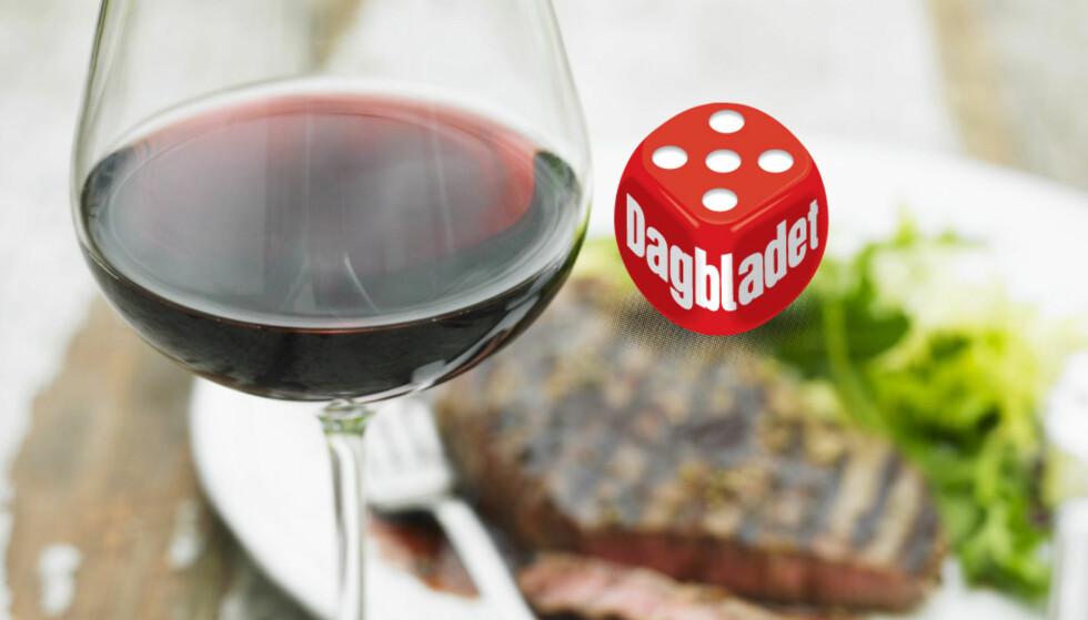 Ingen sak: Det aller meste egner seg på grillen, og det er heller ikke vanskelig å finne vin som passer til maten, mener Dagbladets vinekspert Robert Lie. Illustrasjonsfoto: NTB Scanpix