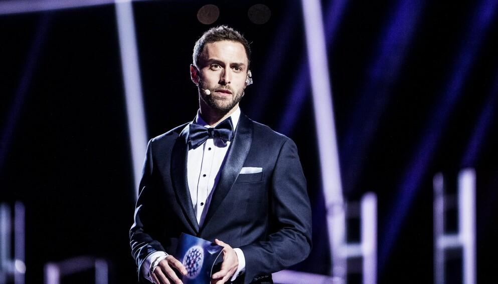 ÅPEN: Måns Zelmerlöw, som ledet Eurovison i Stockholm i 2016, opplevde at kona Ciara spontanaborterte to ganger i fjor. Foto: Aftonbladet / IBL Bildbyrå