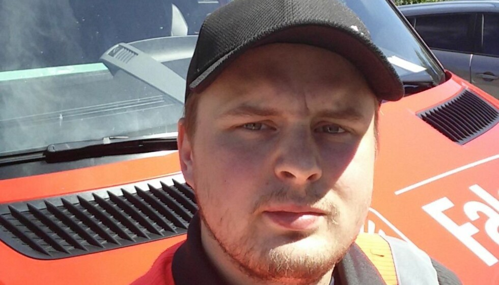 - MOTBYDELIG: Richard Håkansson mener at flere oppfører seg motbydelig når de kommer til et ulykkessted. Foto: Privat