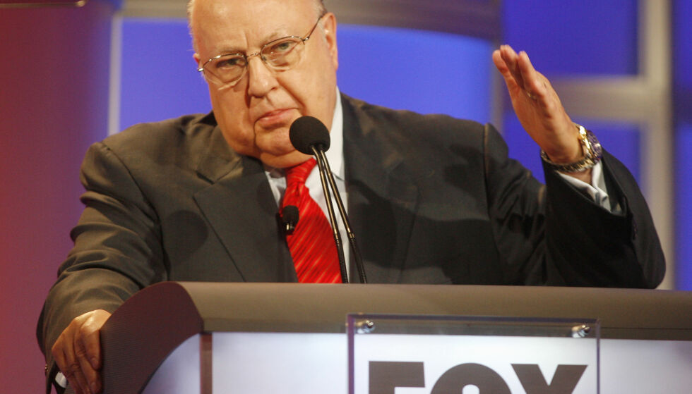 DØD: Tidligere Fox News-direktør og styreformann Roger Ailes er død. Han ble 77 år gammel. Foto: NTB Scanpix