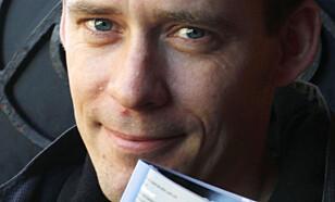 TEGNESERIESKAPER: Børge Lund gir råd til ferske tegneserieskapere. - Gjør det og gjør det enkelt, er rådet. Foto: Cornelius Poppe, NTB Scanpix