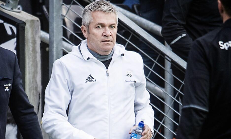 HAR HATT SUKSESS: Rosenborgs Kåre Ingebrigtsen. Foto: Hans Arne Vedlog  / Dagbladet