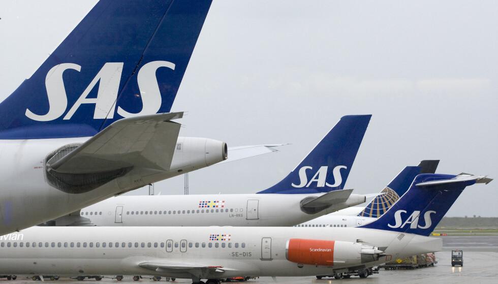 SAS-BRÅK I SIBIR: 247 SAS-passasjerer er fast i Sibir. Foto: Steffen Ortmann/Scanpix 2015)