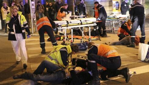 DIJON 2014: En bilfører ropte «Allahu Akbar» og skadet elleve fotgjengere flere steder i byen.  Foto: AP / NTB Scanpix