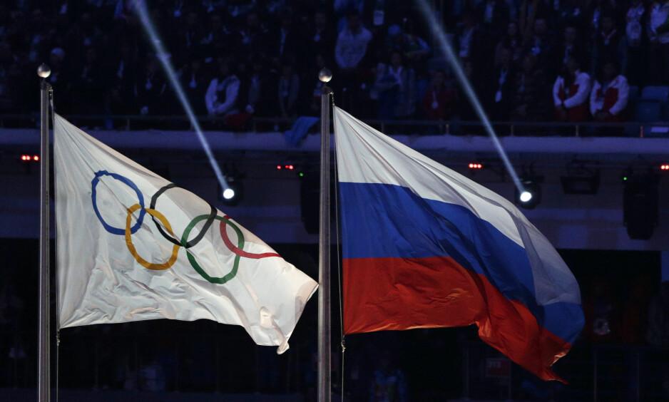 <strong>SKANDALE:</strong> – Vi har sjekket urinprøver fra russiske utøvere fra Sotsji-OL. Alle prøvene vi testet viste at prøvene var tuklet med, sier Richard McLaren, lederen for kommisjonen. (AP Photo/Matthias Schrader, File)
