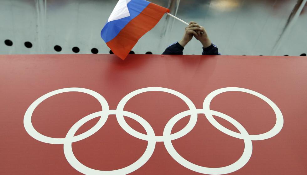 BESUDLET: OL i Sotsji er blitt en eneste stor sdopingskandale etter at McLaren avslørte det russiske jukset på hjemmebane. Foto: AP /David J. Phillip/ NTB Scanpix