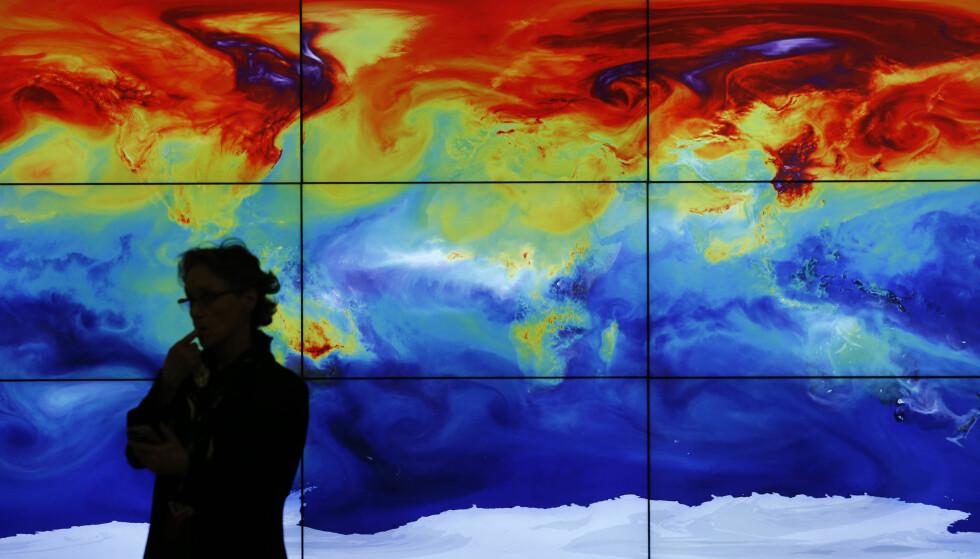 <strong>OPPVARMING:</strong> 2016 blir det varmeste året. Klimaforsker Hans Olav Hygen sier at også i Norge er det forventet at temperaturene vil være høyere enn normalt. Foto: &nbsp;Stephane Mahe / Reuters / NTB scanpix