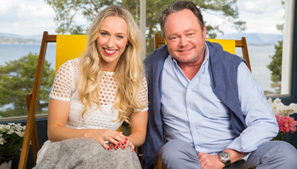 GOD SOMMER NORGE: Katarina Flatland og Fredrik Græsvik er to av programlederne i TV 2s sommersatsning. FOTO: ESPEN SOLLI / TV 2