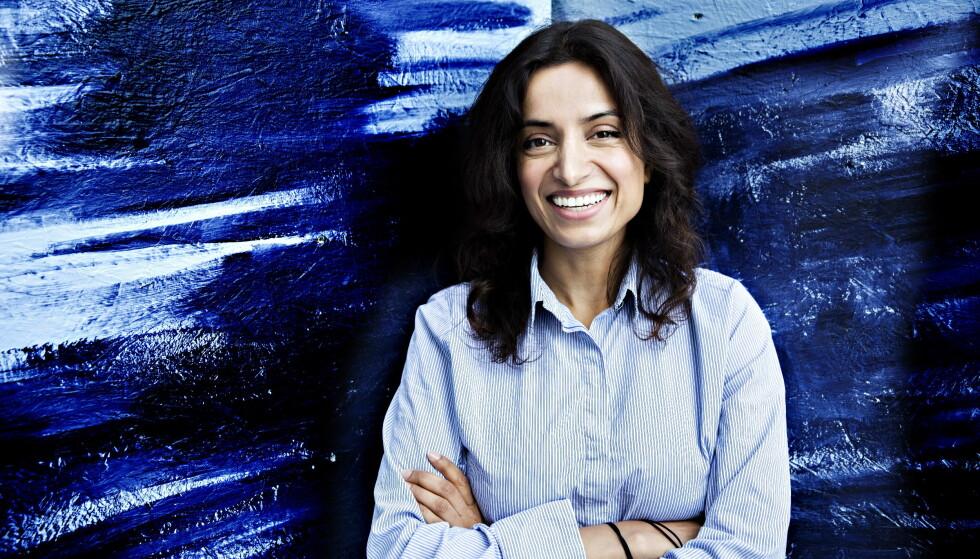 LASERER NETTSTED: Filmskaper Deeyah Khan lanserer et nytt nettmagasin for og om muslimske kvinner. Nå starter hun samarbeid med organisasjonen til Beyoncé og Salma Hayek. Foto: Nina Hansen / Dagbladet