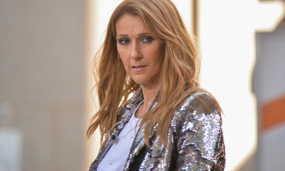 FORTELLER OM BARNA: Celine Dion snakket under et intervju fredag amerikansk tid om hvordan barna har taklet farens død. Foto: Erik Pendzich/REX/Shutterstock, NTB scanpix