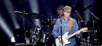 Clapton solgte gitar for å hjelpe kollega som mistet kona