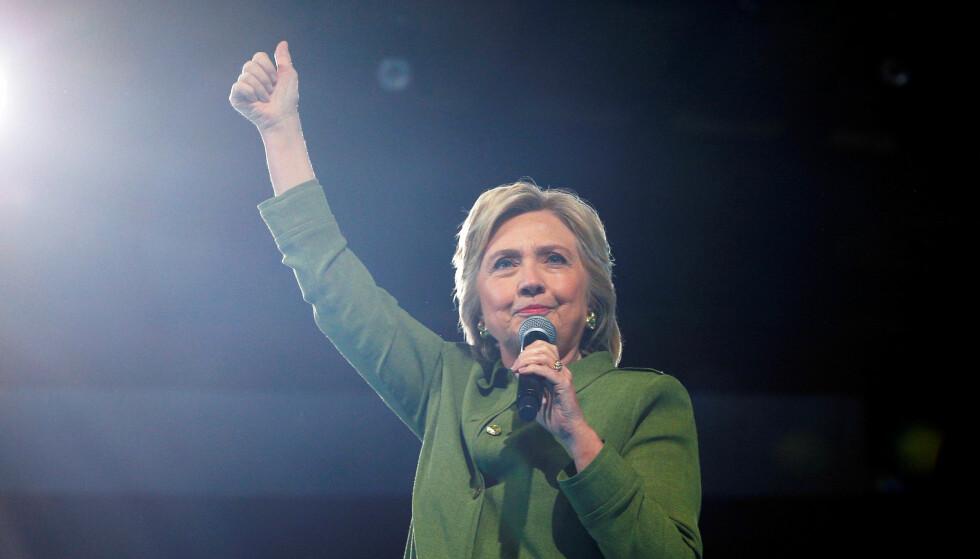 KLAR FOR DEBATT: Hillary Clinton: Foto: REUTERS / Brian Snyder     / NTB scanpix
