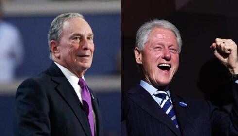 Fornøyd Bill Clinton etter tale - Michael Bloomberg gikk til frontalangrep på Trump