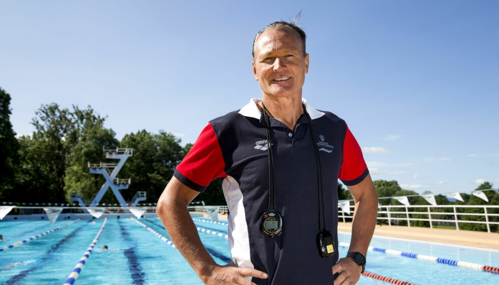 <strong>GLEDER SEG:</strong> Landslagssjef i svømmin, Petter Løvberg. Foto: NTB Scanpix