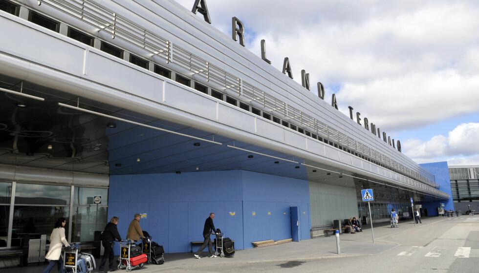 SJEKKET ARLANDA: Svensk politi lette etter Anis Amri torsdag, ifølge torsdag. Foto: Johan Nilsson / SCANPIX / Kod 50090/NTB Scanpix