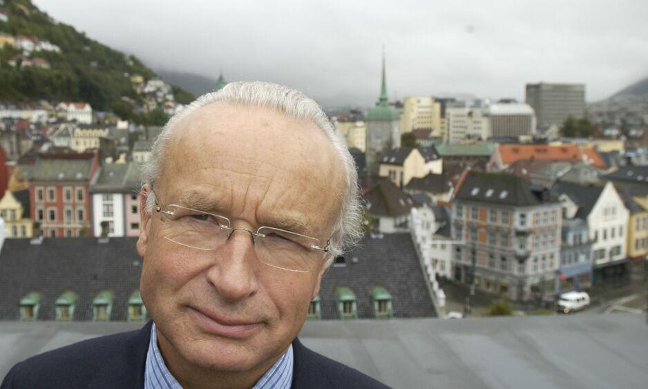 BYEN ER BERGEN: Herman Friele ble i Dagens Næringsliv sitert på at Hansa-ølet smaker som vann. Selv har han investert i mikrobryggeri. Foto: Tor Erik H. Mathiesen