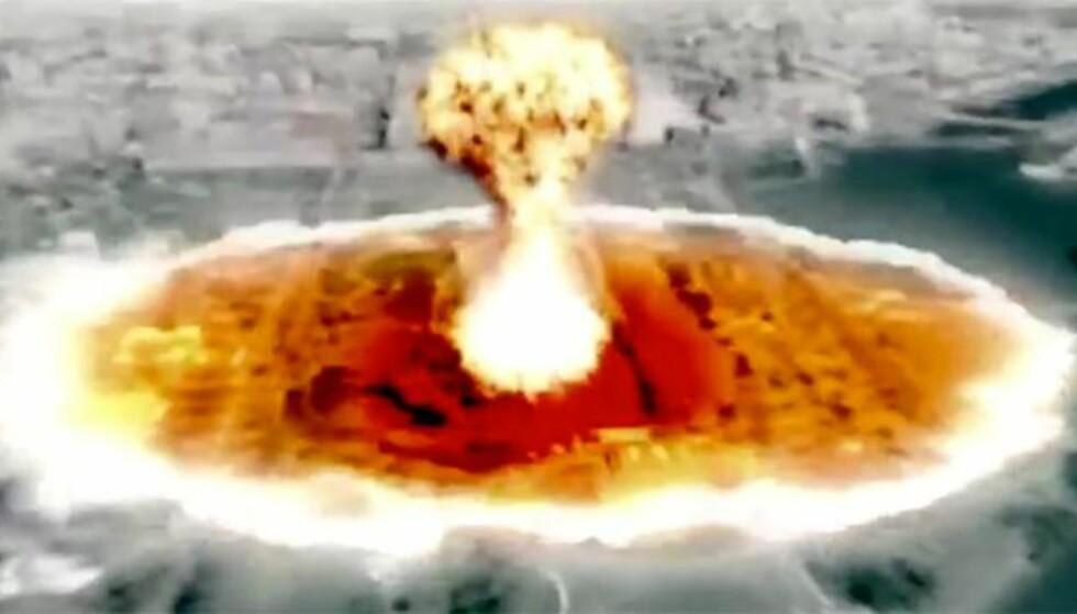 Washington angripes med atomraketter i nordkoreansk propagandafilm
